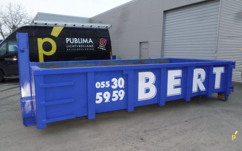 Bert Containers Belettering Publima 06