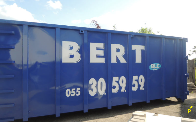 Bert Containers Belettering Publima 08