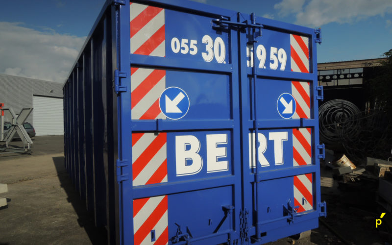 Bert Containers Belettering Publima 09