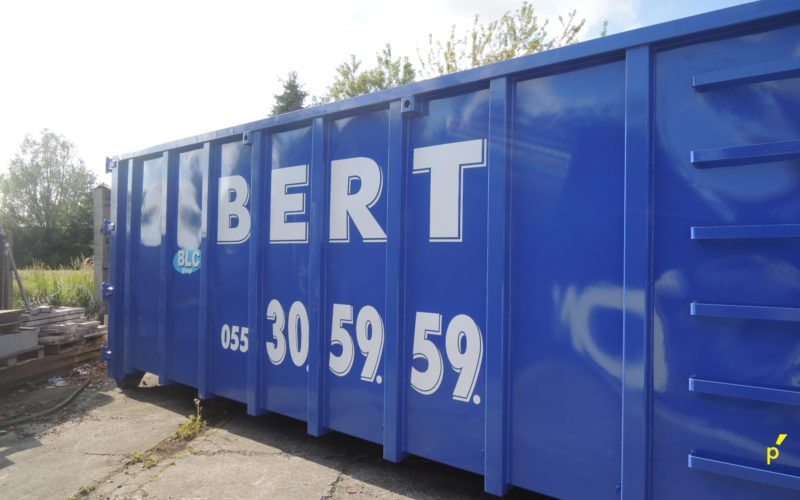 Bert Containers Belettering Publima 10