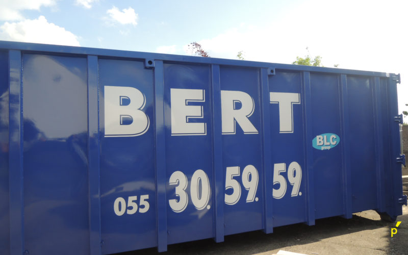 Bert Containers Belettering Publima 11
