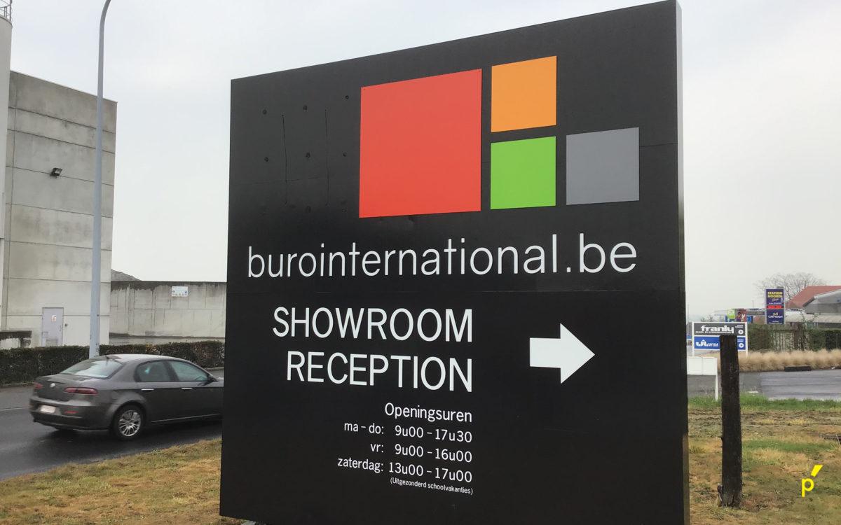 Burointernational Gevelreclame Publima 02