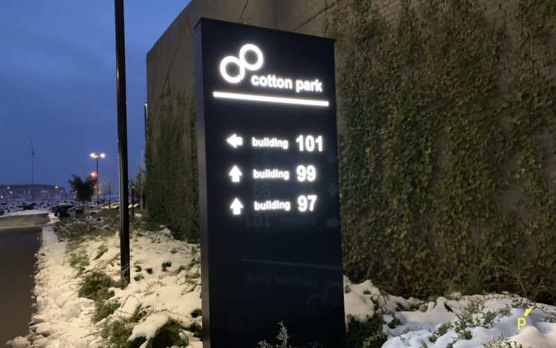 10 Gevelreclame Cottonpark Publima