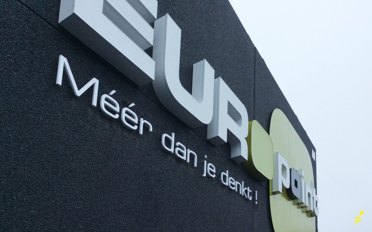 199 Gevelletters Europoint Publima