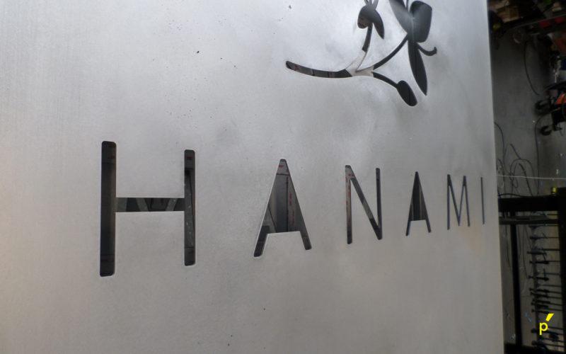 Hanami Zuil Reliëfletters Publima 01
