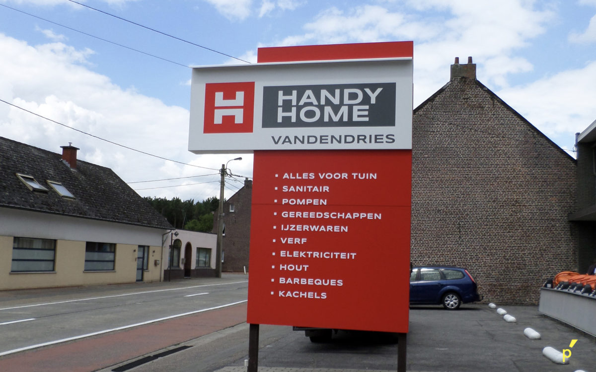 62 Gevelreclame Handyhome Publima