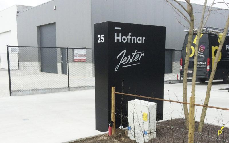 Hofnar Zuil Brievenbus Publima 01