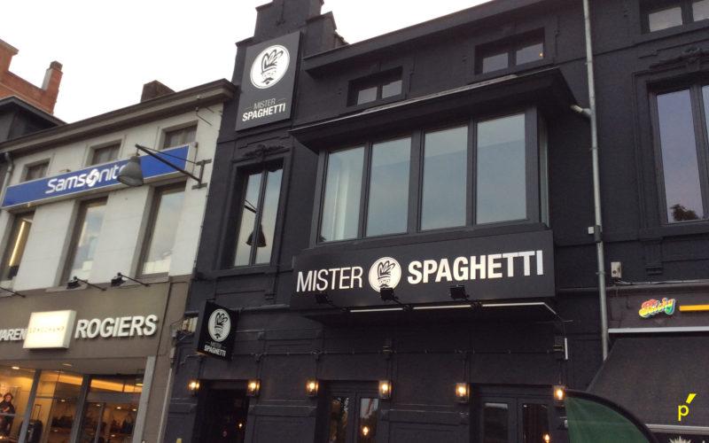 Mister Spaghetti Gevelletters Publima 12