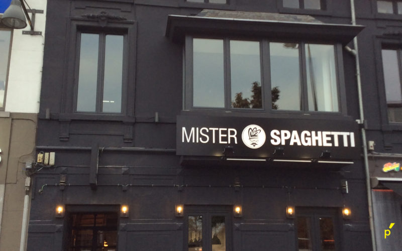 Mister Spaghetti Gevelletters Publima 13