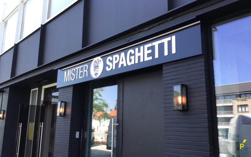 Mister Spaghetti Gevelletters Publima 15