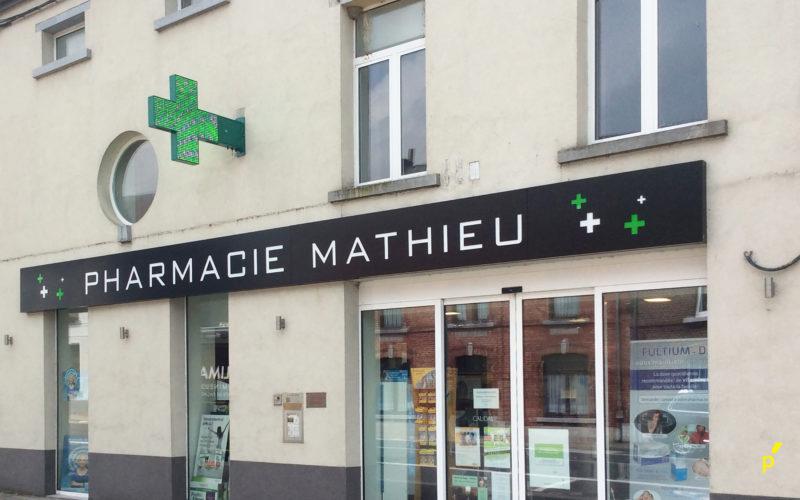 Mathieupharmacie Gevelreclame Publima 01