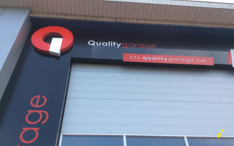 34 Gevelreclame Qualitygarage Publima