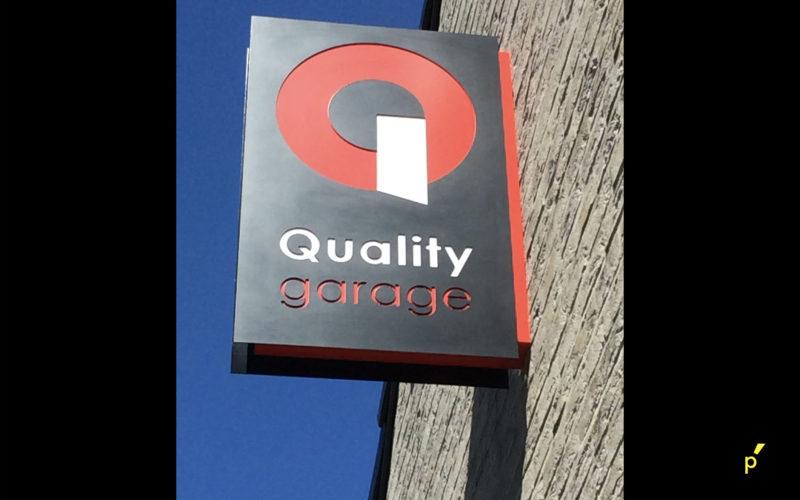 62 Gevelreclame Qualitygarage Publima