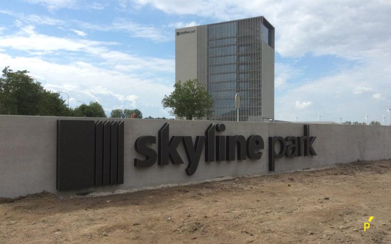 11 Gevelletters Skyline Publima