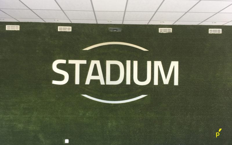 01 Reliëfletters Stadium Publima