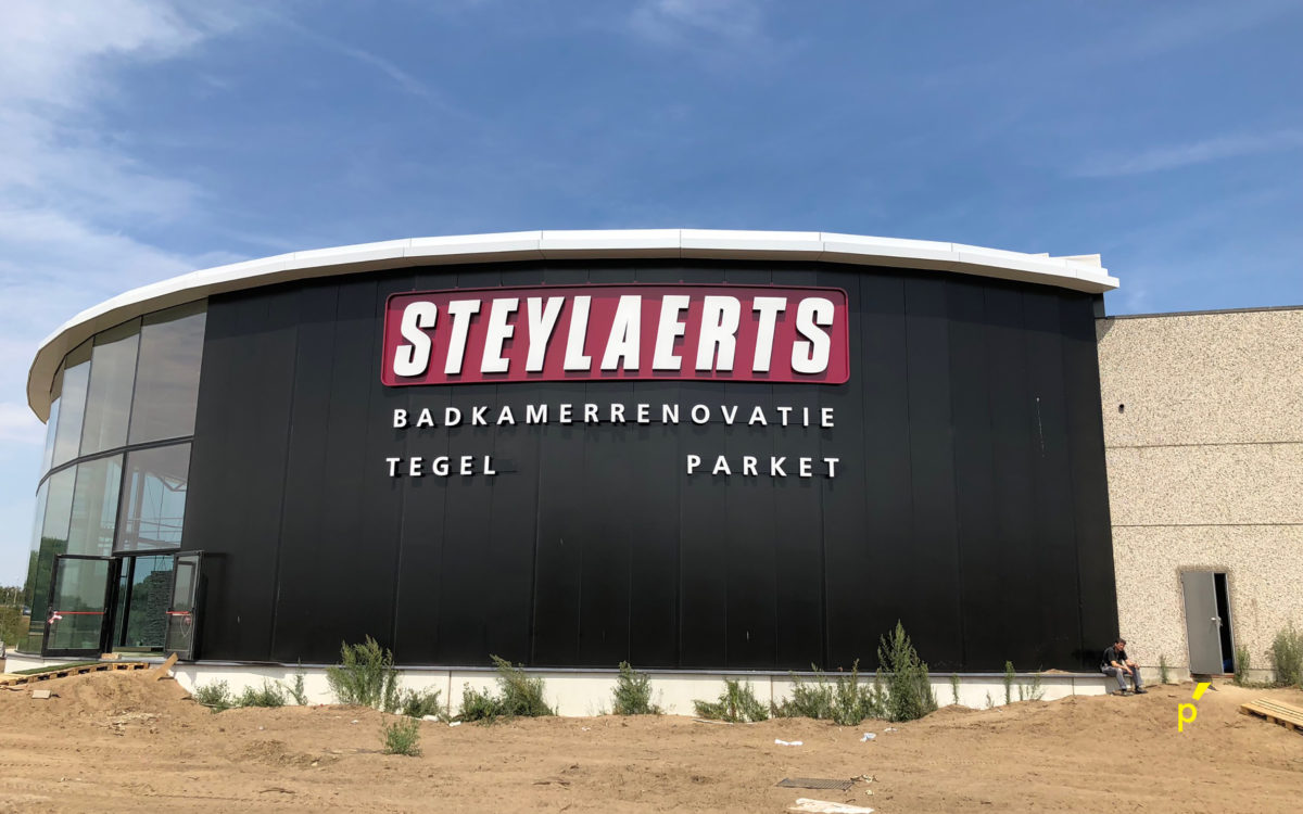 156 Gevelletters Steylaerts Publima