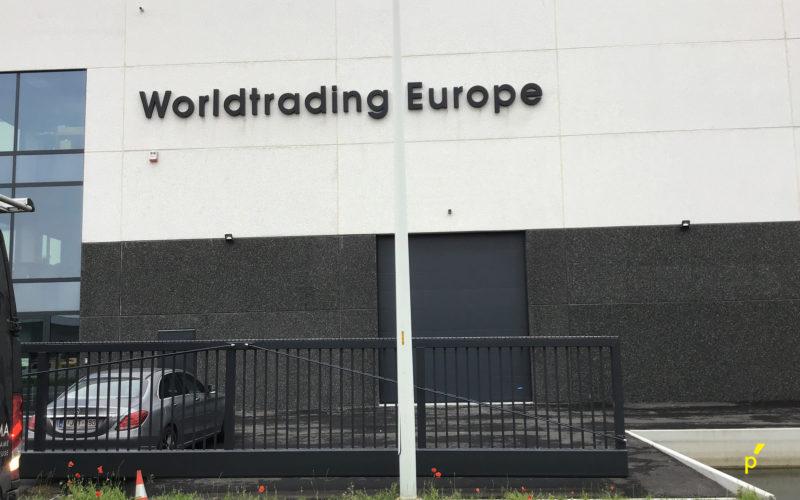 01 Gevelreclame Worldtrading Europe Publima